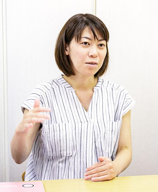 トータルライフケア訪問看護師の岩崎さんの写真