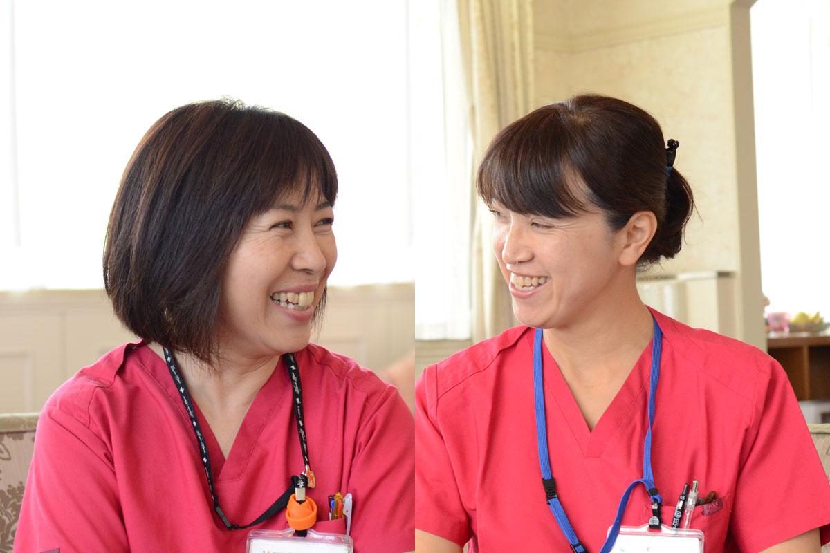 岐阜に根ざして92年。和光会グループ訪問看護師インタビューのアイキャッチ