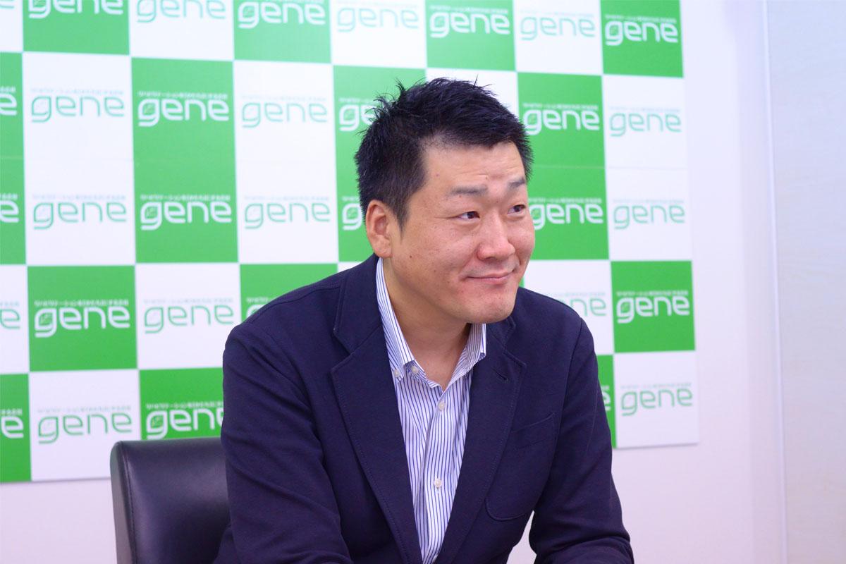 リハビリテーションを形にする会社。株式会社gene代表 張本浩平さんインタビューのアイキャッチ