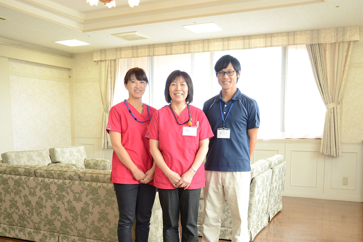 働きやすさでみんなを笑顔に。和光会グループスタッフインタビュー