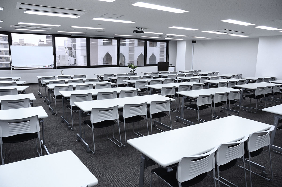 名古屋市東区のgene本社社屋に設けられているセミナールームの写真