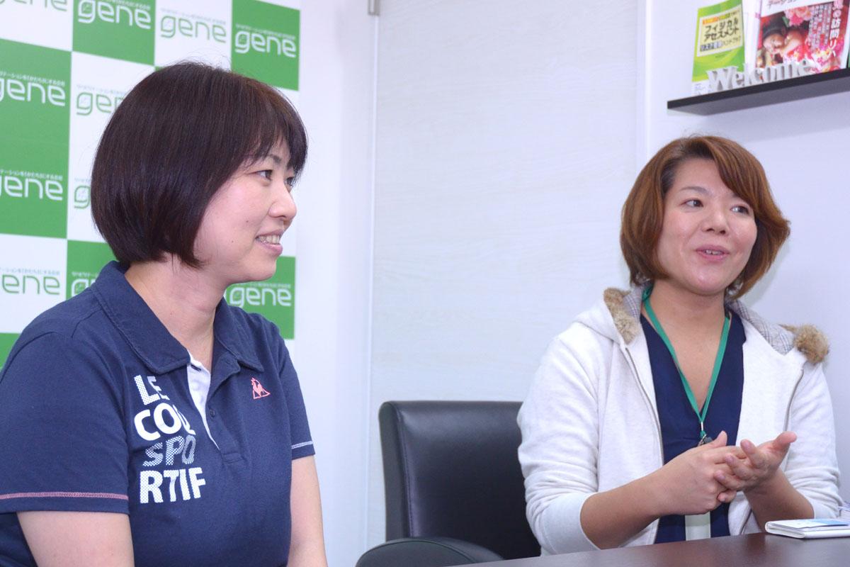 坂井さんと内藤さんの写真