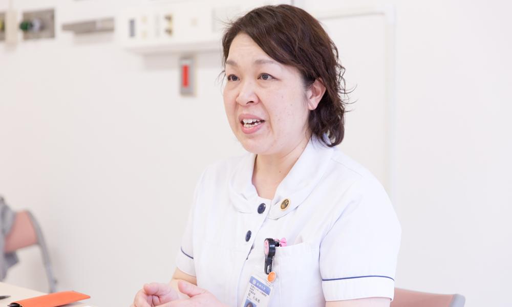 東邦大学医療センター大橋病院 看護師長/堀孔美恵さん